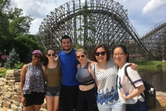 Bocarsly Lab & Friends' Six Flags Adventure 2017.