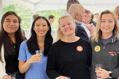 Women of the Bocarsly lab celebrate the Chemistry Nobel Prize 2021